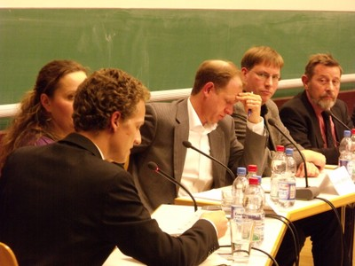 Podium 2011 - Podium: Röhlig, Sharaf, Schlumberger, Lüdke, Hanf - small