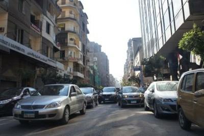 Stau in Ägypten