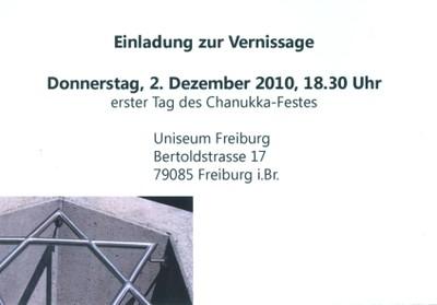 Uniseum - Einladung 2